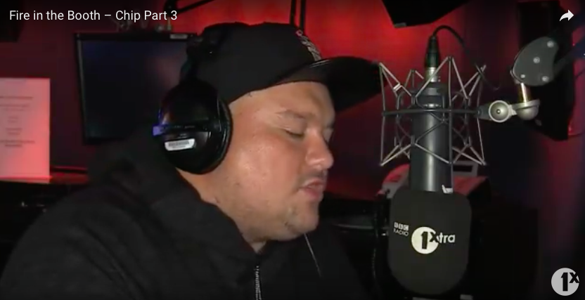 CHIP GETS A THIRD 'FIRE IN THE BOOTH'